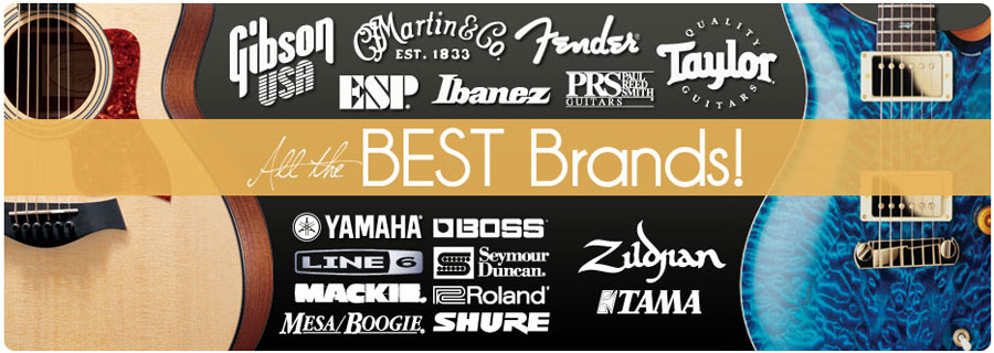 Shop all the best brands at Instrumental Music