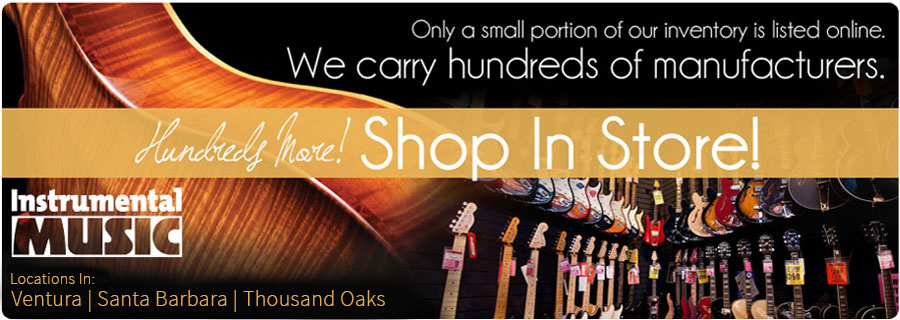 Best guitar shop in Ventura, Thousand Oaks and Santa Barbara