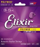 Elixir Acoustic Polyweb 80/20 Bronze Custom Light
