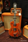 Epiphone Orange Swingster with Bigsby Tremolo