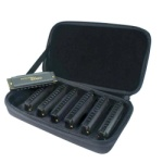 Hohner 7pc blues harmonica gift set