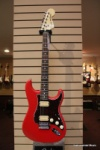 Fender 2014 FSR Hotrod Strat HH Flat Red finish with a Rosewood Neck