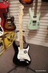 Fender American Standard Strack with a Maple Neck and Black Finish