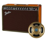 Fender 65 Deluxe Reverb Limited 3 Tone Sunburst Ash Cab and Gold Celestion