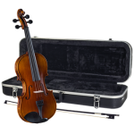 Cremona SV-588 1/2 Solid Flame Maple Violin Kit
