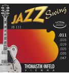 Thomastik JS111 Jazz Swing Series 11-47 Flatwound Strings