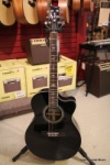 PRS SE Mahogany Agelus Black Acoustic Electric