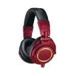 AUDIO TECHNICA LTD RED GOLD ATHM50XRD HEADPHONES
