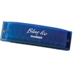 Hohner Blue Ice Harmonica in C, G, or D