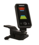 D'Addario Eclipse Clip-on Instrument Tuner Black