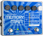 Electro-Harmonix Stereo Memory Man with Hazarai Digital Delay Looper