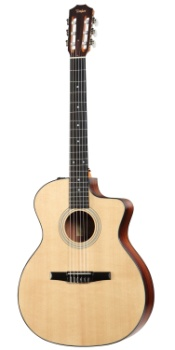 Taylor 2012 214ce Nylon String Acoustic Electric