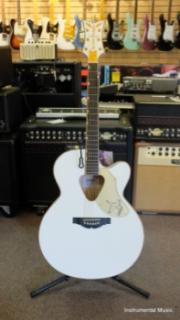 Gretsch Rancher White Falcon Acoustic G5022CWFE