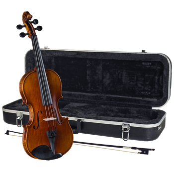 Cremona SV-588 4/4 Solid Flame Maple Violin Kit