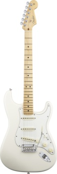 Fender Amenican Standard Strat Olympic White Maple Neck