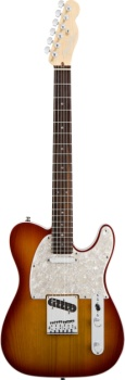 Fender American Deluxe Telecaster Rosewood Aged Cherry Burst