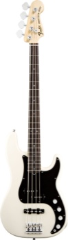 Fender American Deluxe P Bass Olympic White Rosewood Neck