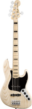Fender American Deluxe Jazz Bass V 5 String Natural Finish Ash bodyt