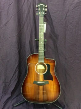 Taylor 220CE-K Deluxe All Koa Acoustic with ES2 System