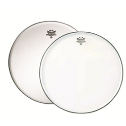 "Remo 14"" Ambassador Coated and Clear Snare Pack"