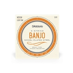 D'Addario EJ61 Nickel Plated Banjo Strings, Medium