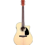Fender CD-60CE Cutaway Acoustic Electric with Case
