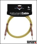 Fender C Shop 10' Tweed Angled Instrument Cable