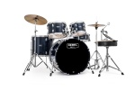 Mapex Rebel 5 Piece Complete Drum Set Royal Blue