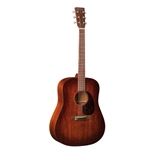 Martin D-15M Burst Mahogany Top, Hardshell Case Included