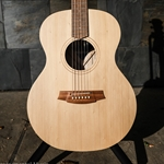COLE CLARK ANGEL 1 E Bunya Face, Queensland Maple back & sides w/case