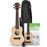 Tanglewood Ukele Learning Pack with Uke, Bag, Book, and Tuner