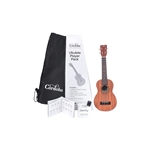 Cordoba Protege Soprano Uke Pack with Uke, Bag, Extra Strings, Picks, and Learning Materials