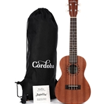 Cordoba Concert Ukulele Player Pack