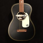 Gretsch Gin Ricky G9520E Acoustic Guitar with Electronics - Smokestack Black