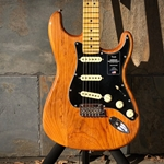 Fender American Pro II Stratocaster, Maple Neck, Roasted Pine Finish