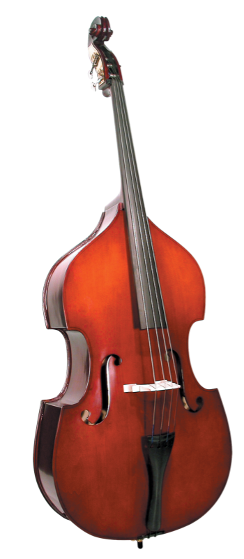 Cremona SB2 Student Bass Outfit - 3/4-1/4