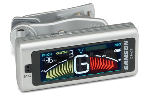 SAMSON color clip-on tuner