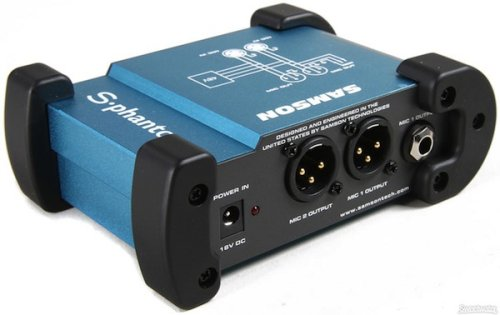 Samson S-Phantom 2 Channel 48 Volt Phantom Power Supply