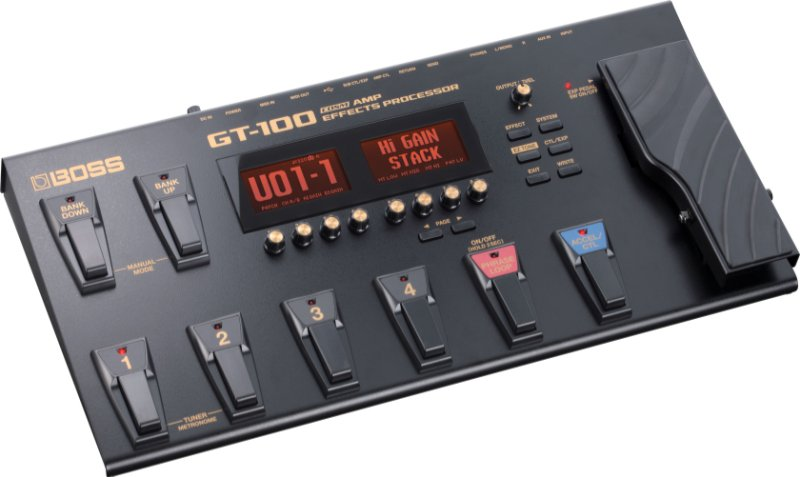 BOSS GT100 Multi-Effect processor