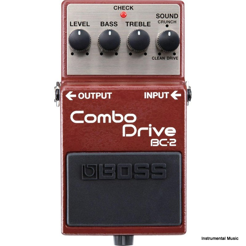 Boss BC-2 British Combo Drive Effect Pedal