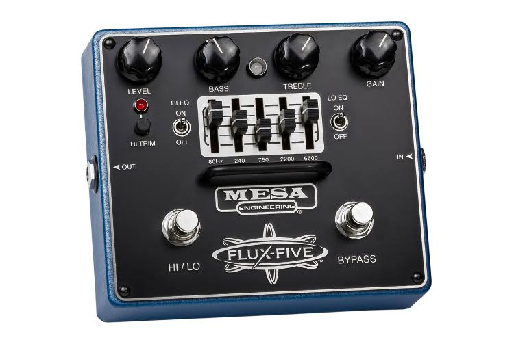 Mesa Boogie Pedal Flux Five with Graphic EQ