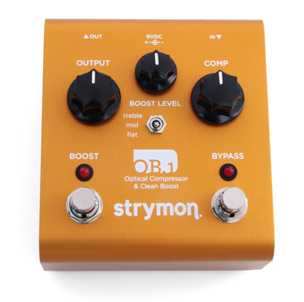 Strymon OB2 Optical Compressor and Clean Boost