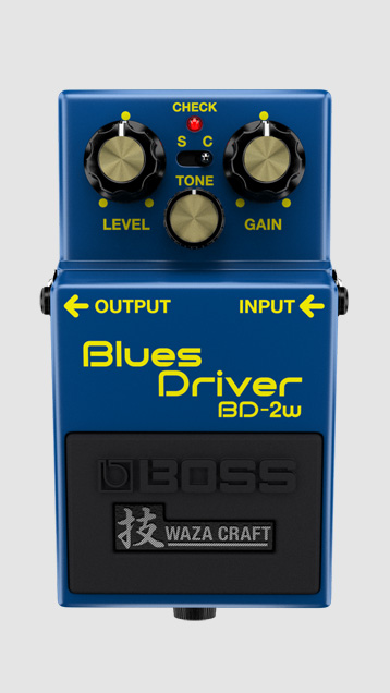 Boss BD-2 Blues Driver Waza Craft Overdrive