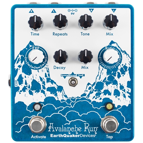 Earthquaker Devices Avalance Run Stereo Delay and Reverb