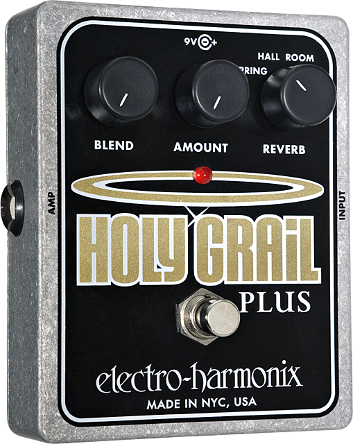 Electro-Harmonix Holy Grail Plus with Room Reverb