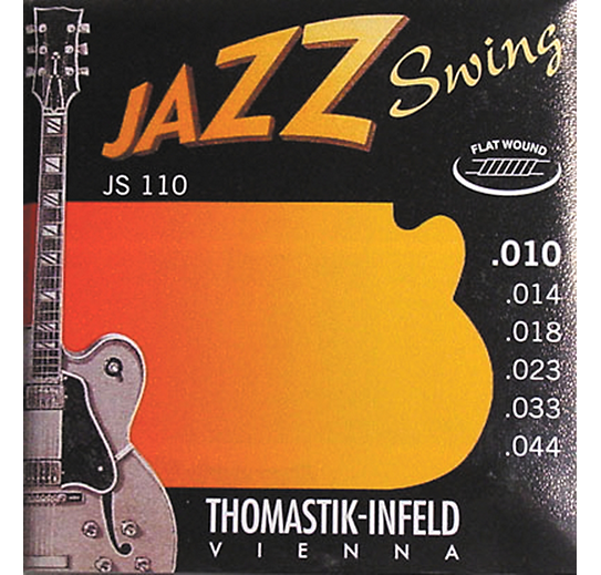 Thomastik JS 110 Jazz Swing Series 10-44 Flat Wound