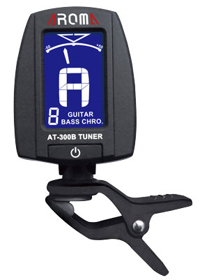 Aroma chromatic / guitar / bass clip-on tuner
