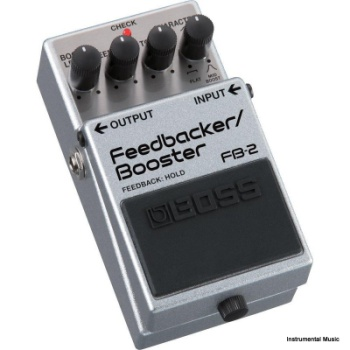 Boss FB-2 Feedback Booster Effect Pedal