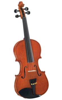 Cremona SV-200 1/2 and  Premier Violin Flamed Maple Back and Sides