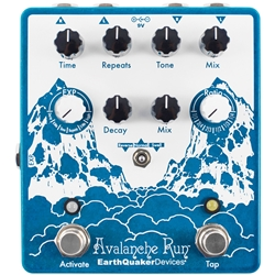 Earthquaker Devices Avalance Run Stereo Delay and Reverb with Tap Tempo